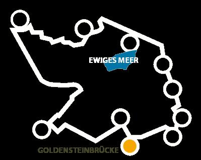 Karte - Goldensteinbrücke