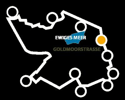 Goldmoorstrasse -Karte